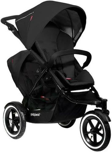 Phil & Teds Navigator Double Buggy - Black small and compact, could also just be single stroller, great reviews.. Possible options.