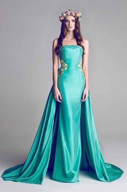 Turn heads in this beautiful turquoise shade #jasmineinspired