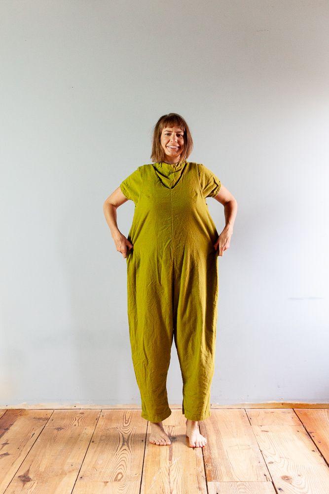82c231c1de1 Flannel Jumpsuit - Peppermint Mag   In the Folds Free Jumpsuit Pattern