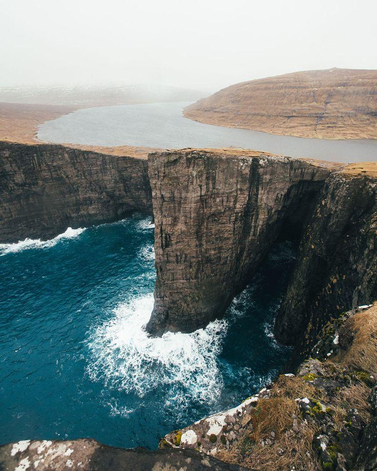 Lake Sørvágsvatn Faroe Islands // Dylan Furst