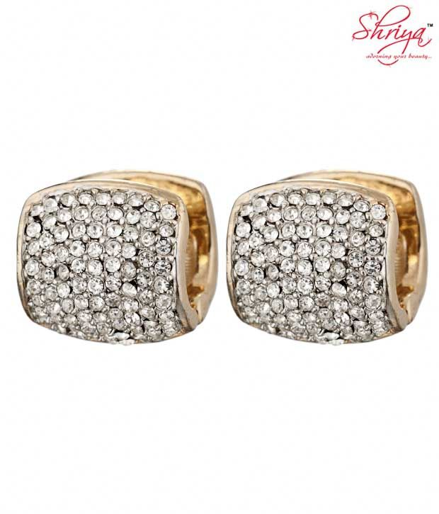 Shriya Lavish Huggies with Austrian Diamonds