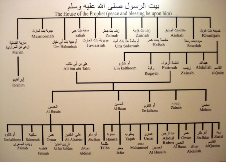 The family of the Prophet Muhammed pbuh
