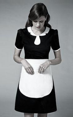 elegant house maid uniform 5 star hotels - Google Search
