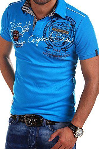 MT Styles Poloshirt AMBITION R-2687 [Blau, L]