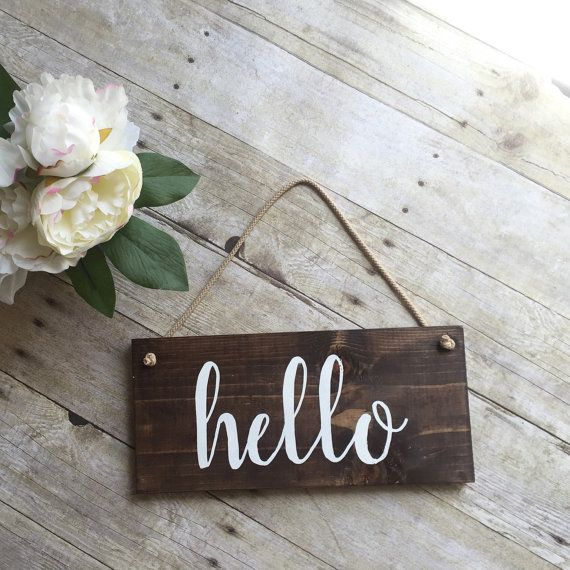 Hey, I found this really awesome Etsy listing at https://www.etsy.com/listing/276719708/hello-welcome-sign-for-front-door-wreath