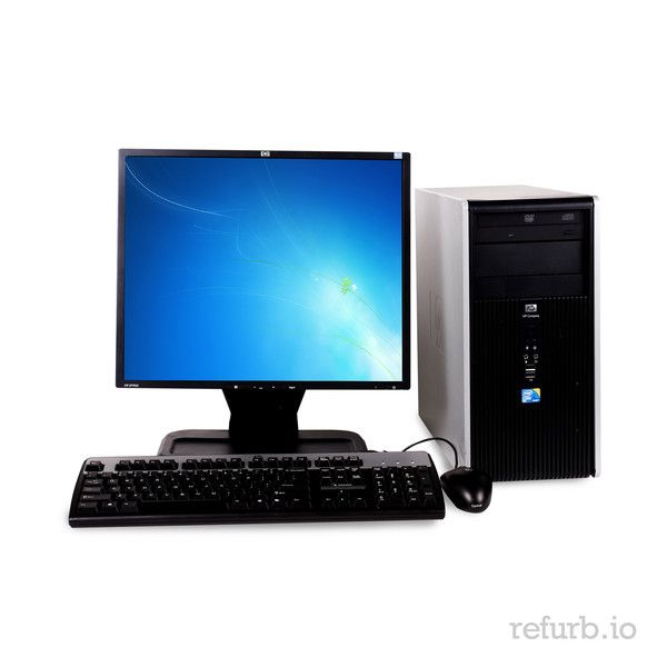 """*Manufacturer: HP *Model #: COMPAQ DC7800 BUSINESS *Form Factor: TOWER *CPU: INTEL CORE 2 QUAD Q6600 2.4Ghz *Memory: 4GB *Memory Type: DDR2 *HDD: 1TB *Hard Drive Type: SATA *Optical: DVD *Monitor: 19"""" REGULAR LCD O/S: WINDOWS 7 HOME PREMIUM (W7HP), MICROSOFT AUTHORIZED REFURBISHER (MAR) *Keyboard & Mouse: YES"""