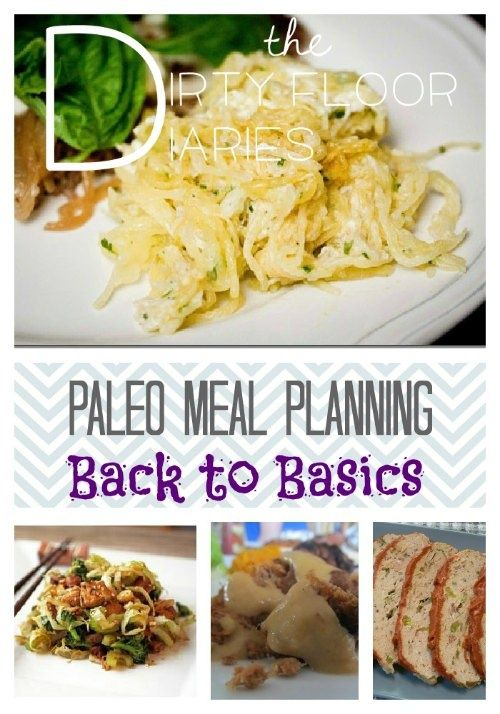 Paleo Meal Planning, Back to Basics    with Printable Shopping List!