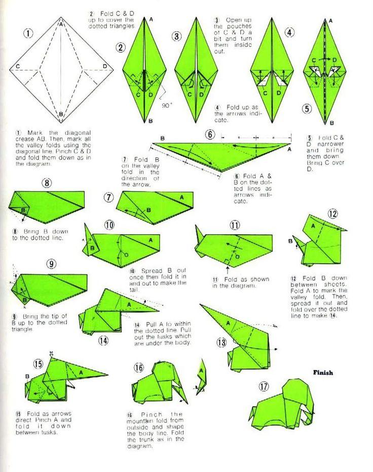 T Rex Origami Paso A Paso