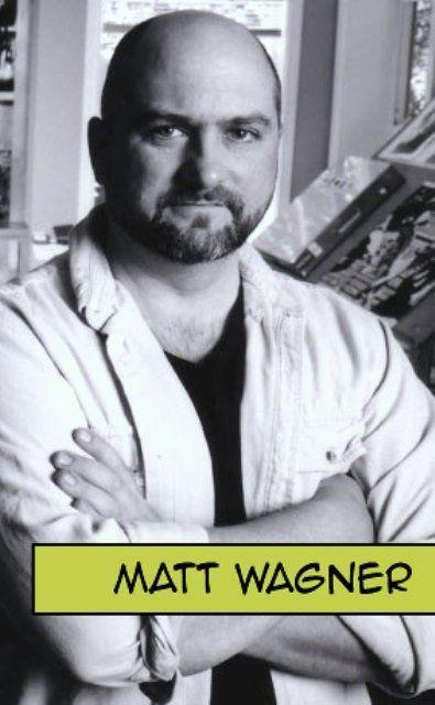 Matt Wagner comic book writer/artist.creator of Grendel.