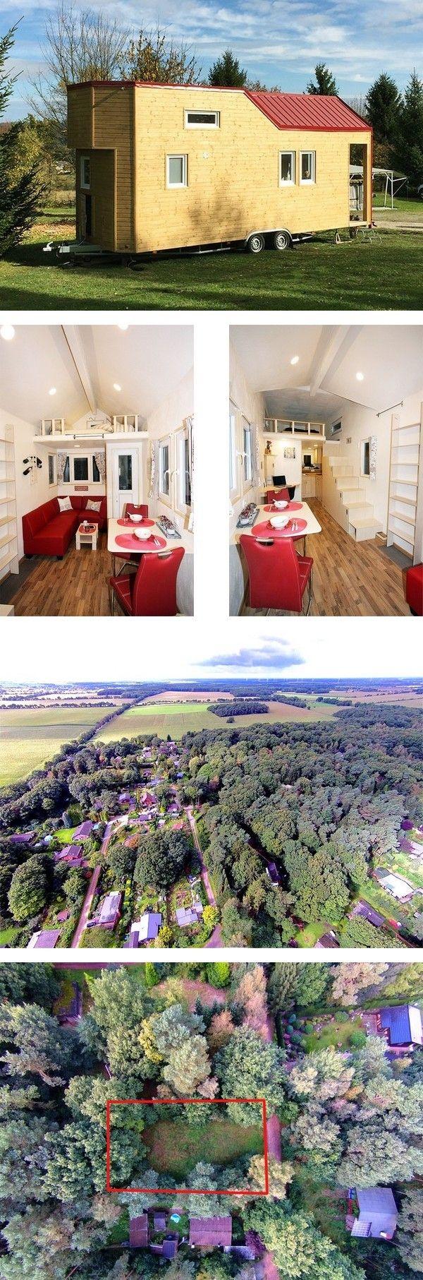 Tiny House U2013 Minihaus Mit Möblierung Und Pachtgrundstück Im Cuxland  Zwischen Nordsee, Elbe Und Weser