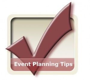 event planning tips for a venue and catering options