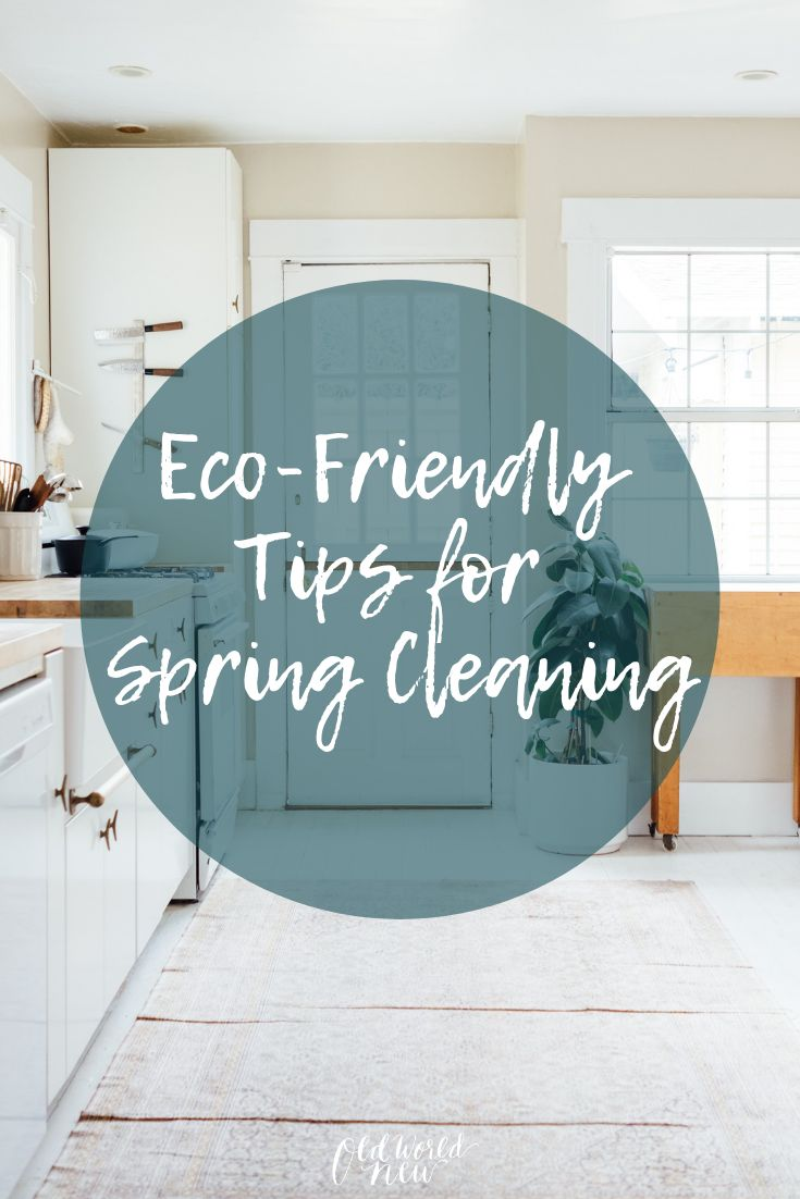 Eco-Friendly Spring Cleaning Tips