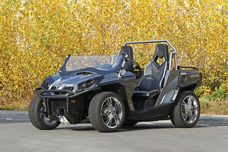 """Outland max Pics with 16"""" rims and street tires? - Can-Am ATV Forum"""