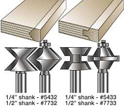 MLCS Edge Banding Router Bits
