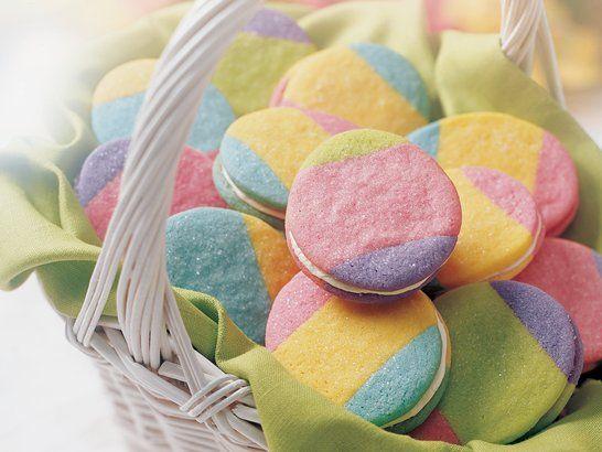 Rainbow Egg Cookies - Que Rica Vida