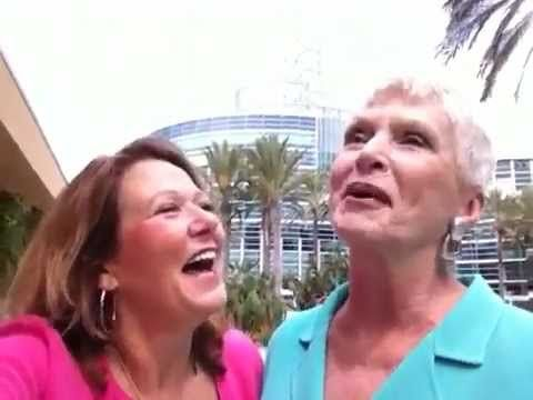 Skinny Tip - Adele Good with Jeanne Robertson at NSA Convention speaking on Healthy Laughter!