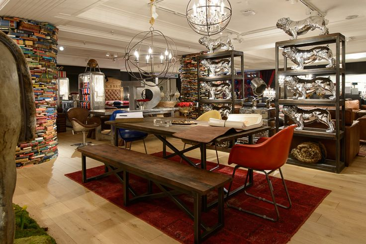 Timothy Oulton Now Open At Harrods