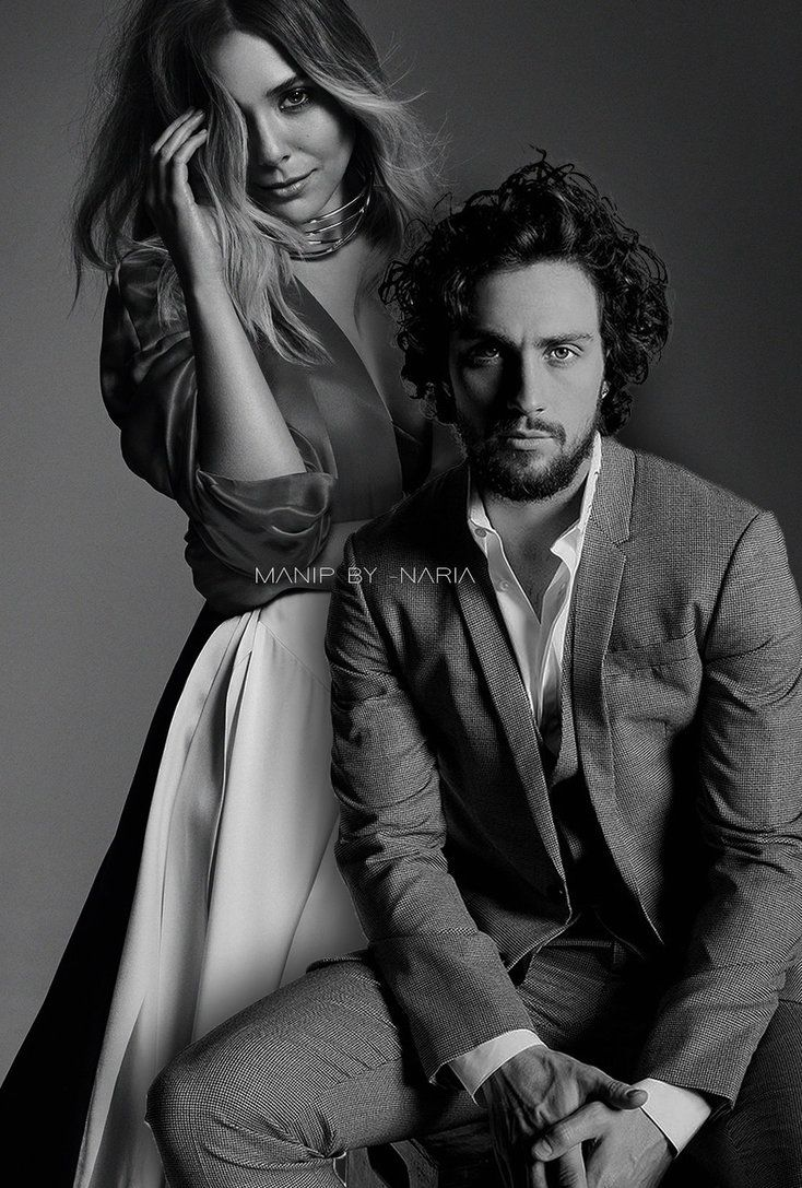 Manip 02 Elizabeth Olsen Aaron Taylor Johnson By Xnariax With