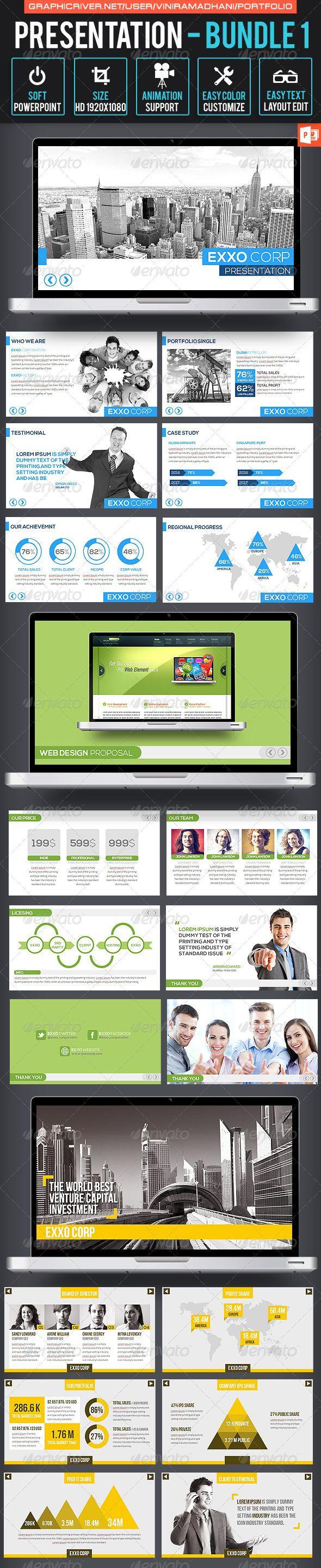 Presentation Bundle 1 - Business Powerpoint Templates