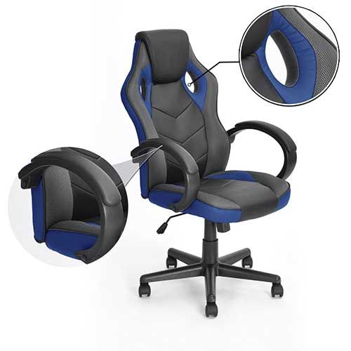 1.best Gaming Chair Under 100: Gaming Chair Racing Chair Workstation Computer  Chair Coavas