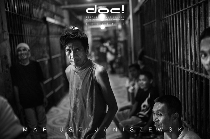 doc! photo magazine presents: Mariusz Janiszewski TO SHOW SOMETHING ISN'T ENOUGH, YOU HAVE TO ALSO KNOW HOW TO TELL IT (interview) + ON THE OTHER SIDE OF BARS (photo story) @ (doc! #26, pp. 33-71)