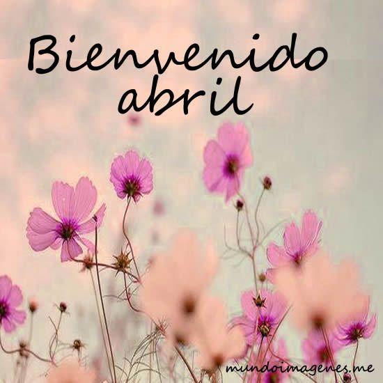 ¡Le damos la bienvenida al genial mes de Abril!