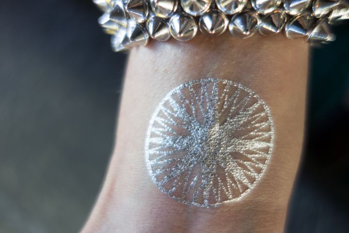permanent silver tattoo ink - Google Search