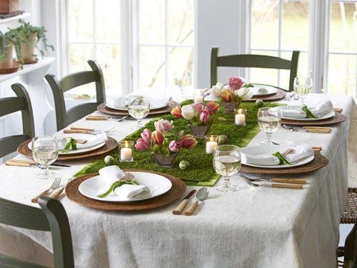 Come apparecchiare la tavola per Pasqua: Tables Sets, Good Housekeeping, Easter Buffet, Easter Tables, Easter Decor, Buffet Menu, Lunches Recipe, Tables Decor, Easter Ideas