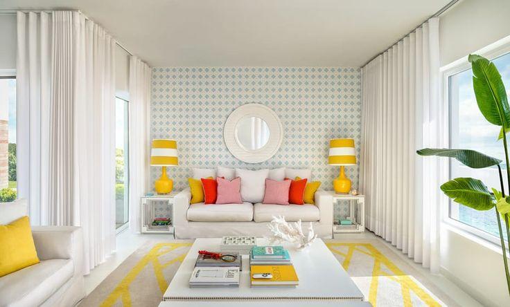Decoração de salas de estar: ideias e sugestões económicas (De Mariana Garcia - Homify)