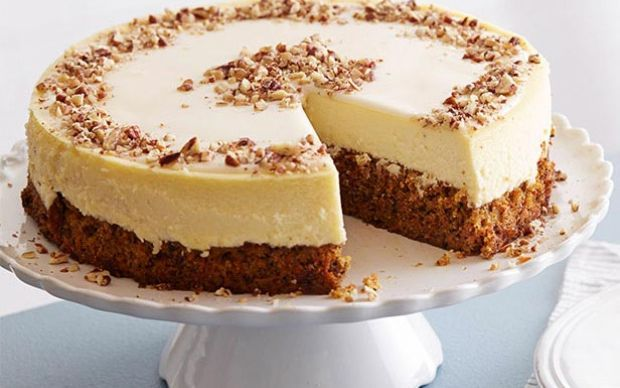 Carrot Cheesecake by Food Network Kitchens (Carrot) @FoodNetwork_UK