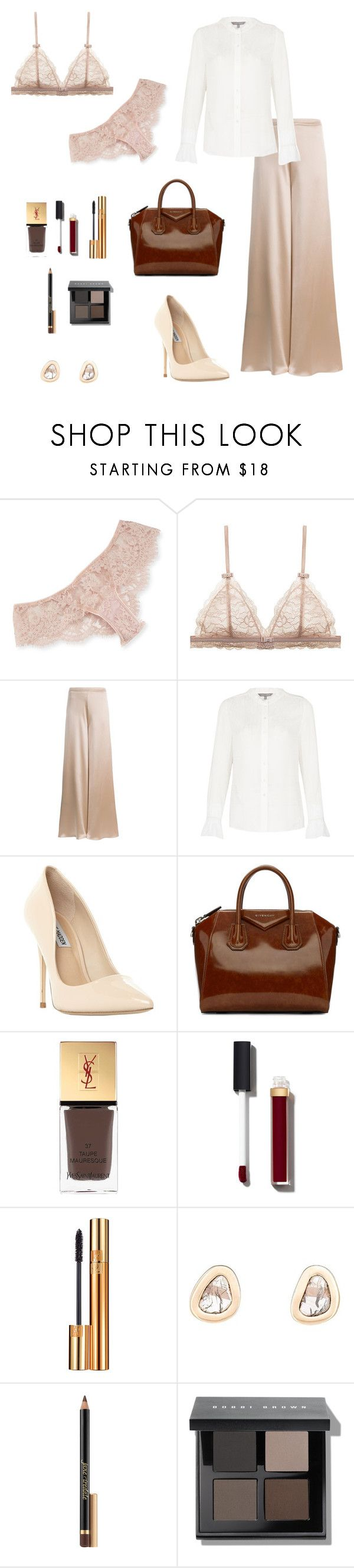 """""""Untitled #501"""" by ladyasdis ❤ liked on Polyvore featuring I.D. SARRIERI, Voz, Laura Ashley, Steve Madden, Givenchy, Yves Saint Laurent, Chanel, Dezso by Sara Beltrán, Jane Iredale and Bobbi Brown Cosmetics"""
