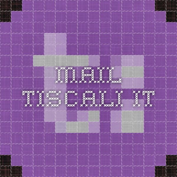 mail.tiscali.it