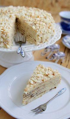 """Торт """"Минутка"""" - приготовление без духовки! + коммент. Виктория Соцура (Корень)"""