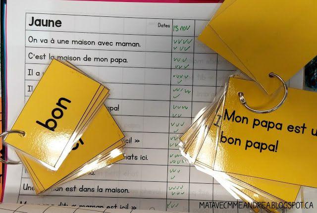 Aidez vos élèves à apprendre 90 mots fréquents à leur vitesse! Parfait pour la maternelle et la première année. 90 mots fréquents regroupés dans 9 listes de mots. Cartes éclairs, phrases de fluidité, certificats, jeux, grilles d'évaluation,...
