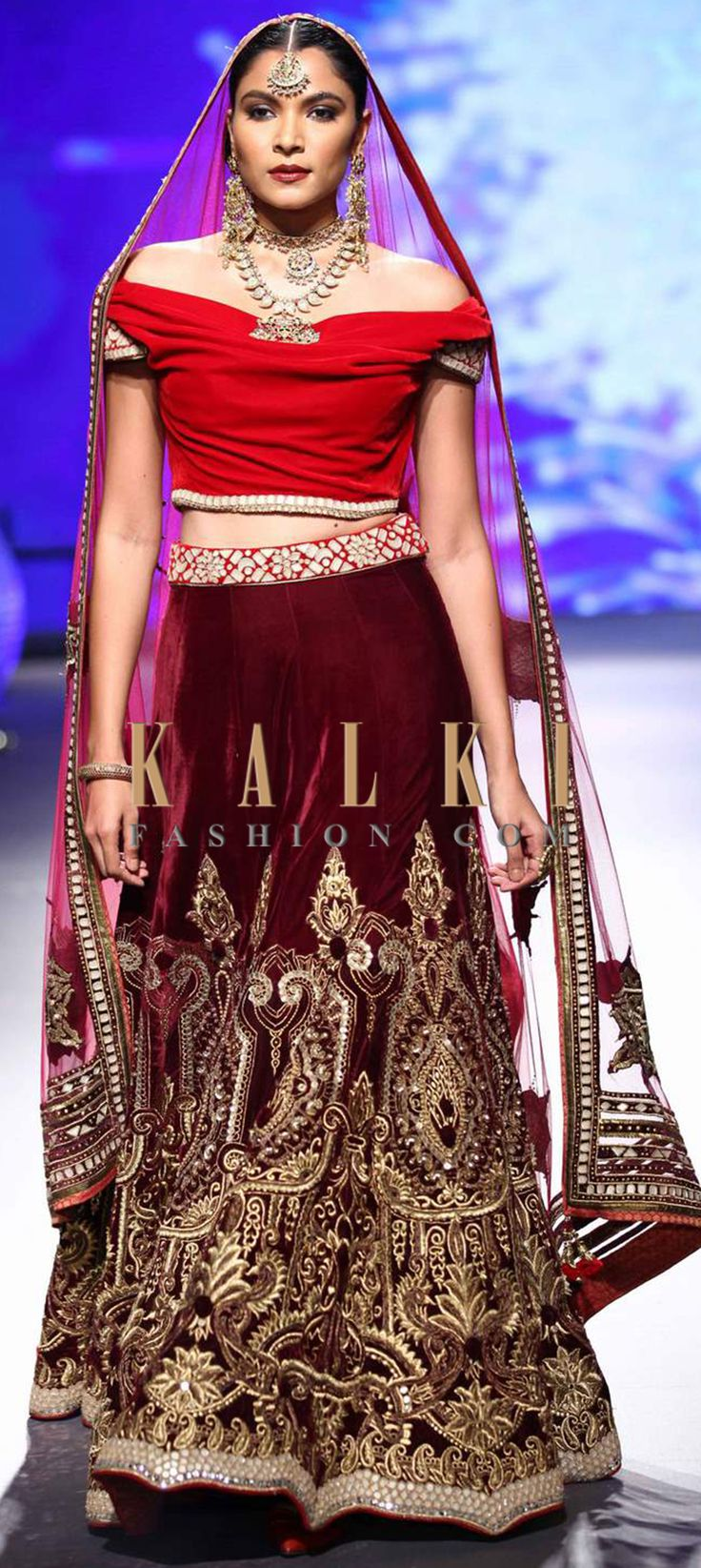 Click on the following link - http://www.kalkifashion.com/designers/tarun-tahiliani.html