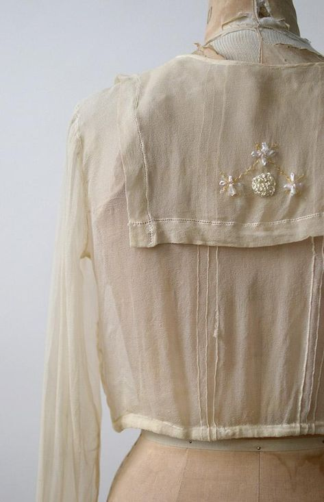 23aee7337a0 Antique Edwardian Blouse   Antique 1910s 1920s Top   Kindred Spirits Blouse