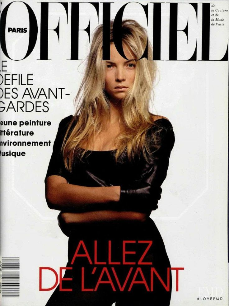 Cover of L'Officiel France with Rachel Williams, May 1990 (ID:1894)| Magazines…