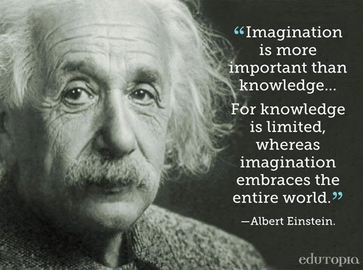 Read one educator's thoughts on the importance of imagination in education.