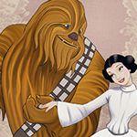 Beauty and the Beast/Star Wars     LOVE IT!: Disney Princess, Starwars