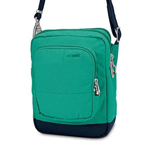 Pacsafe Citysafe LS75 AntiTheft CrossBody Travel Bag Lagoon ** Check this awesome product by going to the link at the image. Note:It is Affiliate Link to Amazon.