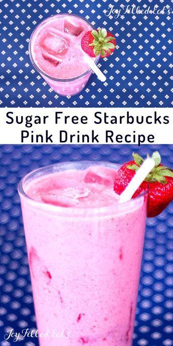 Starbucks Pink Drink Recipe – Low Carb, Keto, Sugar-Free, THM FP or S – I've…