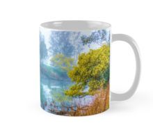 Foggy Start to the Day at Lake Eildon Mug