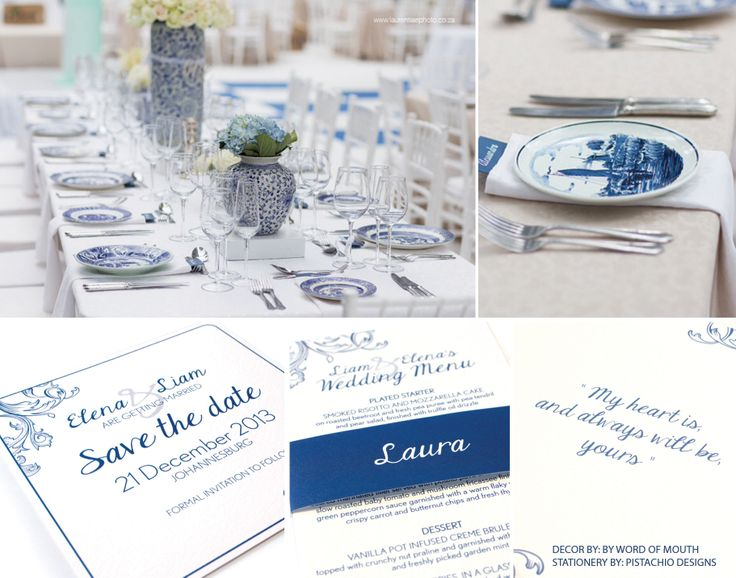 Delft inspired wedding-actual weddings