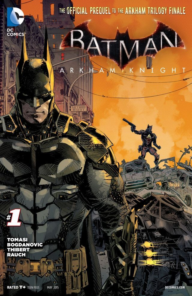 BATMAN: ARKHAM KNIGHT #1 | DC Comics