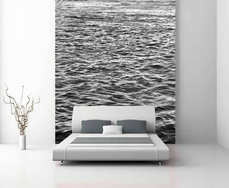 """Water"" Wallpaper © Natascha van Niekerk Custom photographic wallpaper printed to any size. Fine Art photography for home decor."