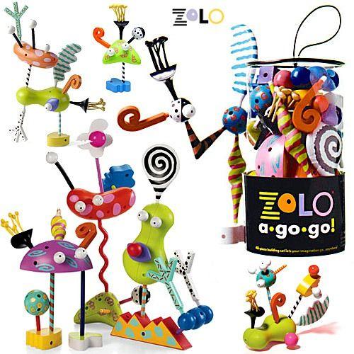 Конструктор Zolo go go  ~2000  Крутой креативный конструктор, можно делать смешных чудиков...на вырост, да