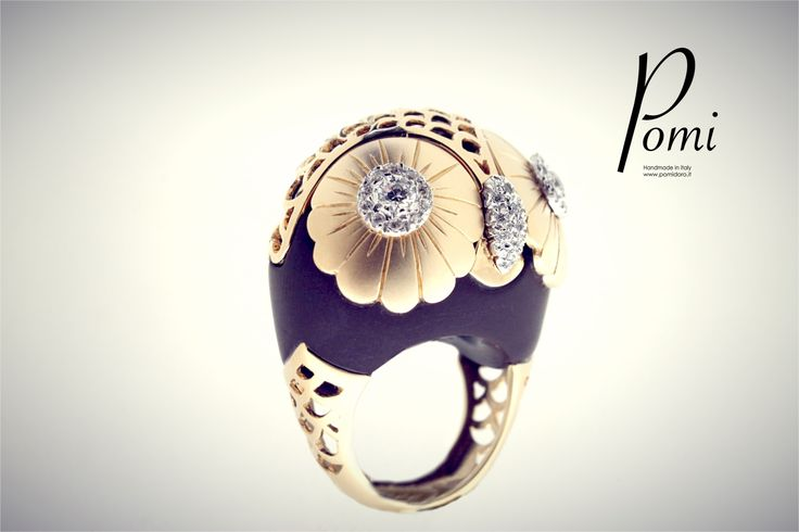 Owly - Gold Ring - Pomi
