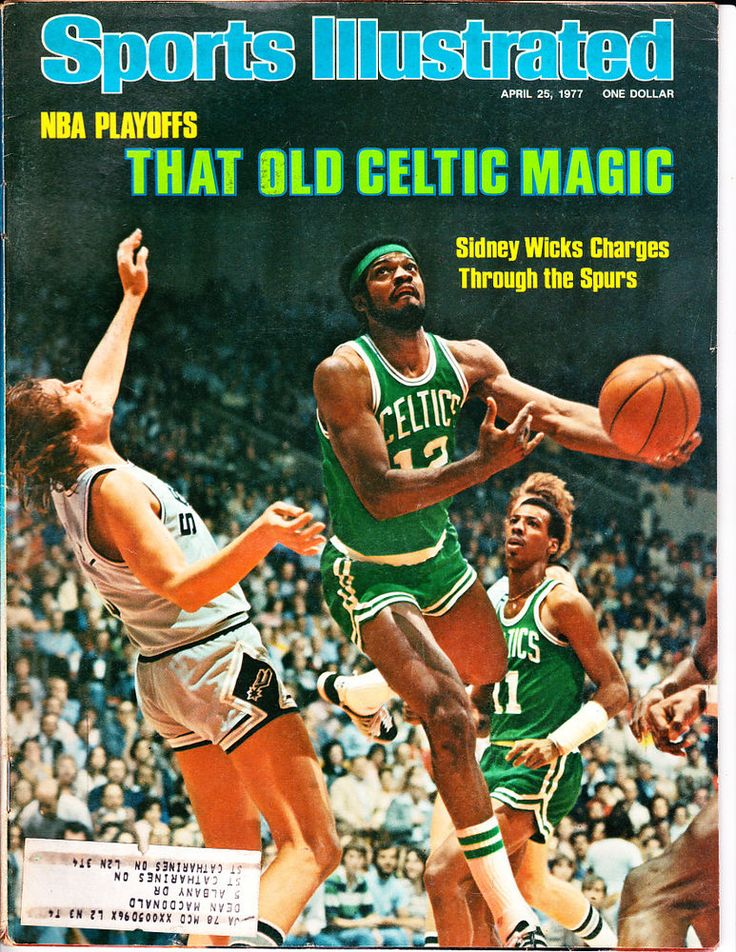 1977 Sports Illustrated Sidney Wicks Boston Celtics NBA