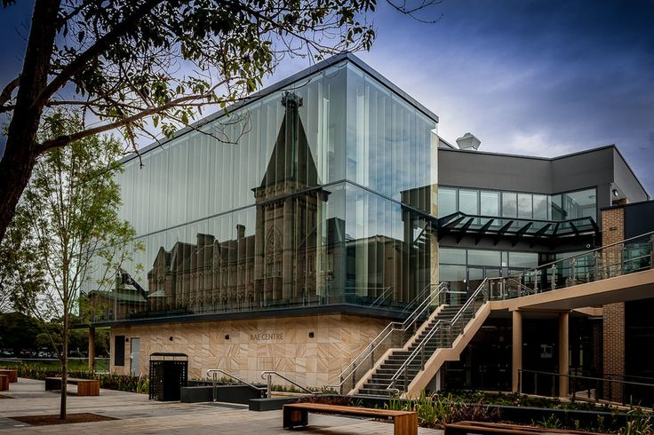 View from outside - Newington College Library