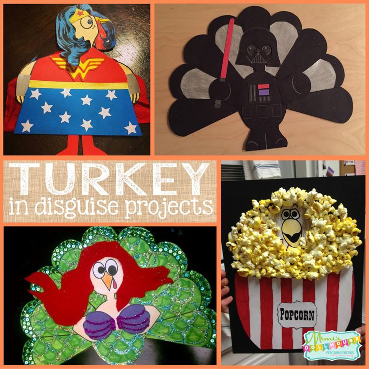Thanksgiving: Turkey in Disguise School Project. Today I'm sharing some fun turkey disguise ideas to do with your little ones. These are perfect for Thanksgiving school projects or just hanging out at home crafting with your kiddos. Be sure to checkout all our Thanksgiving ideas and inspirations.